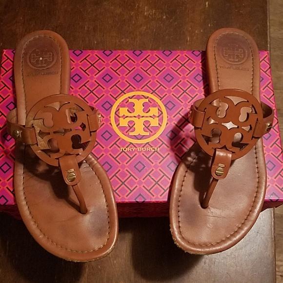 Tory Burch Shoes - Tory Burch Millers - Vintage Vachetta